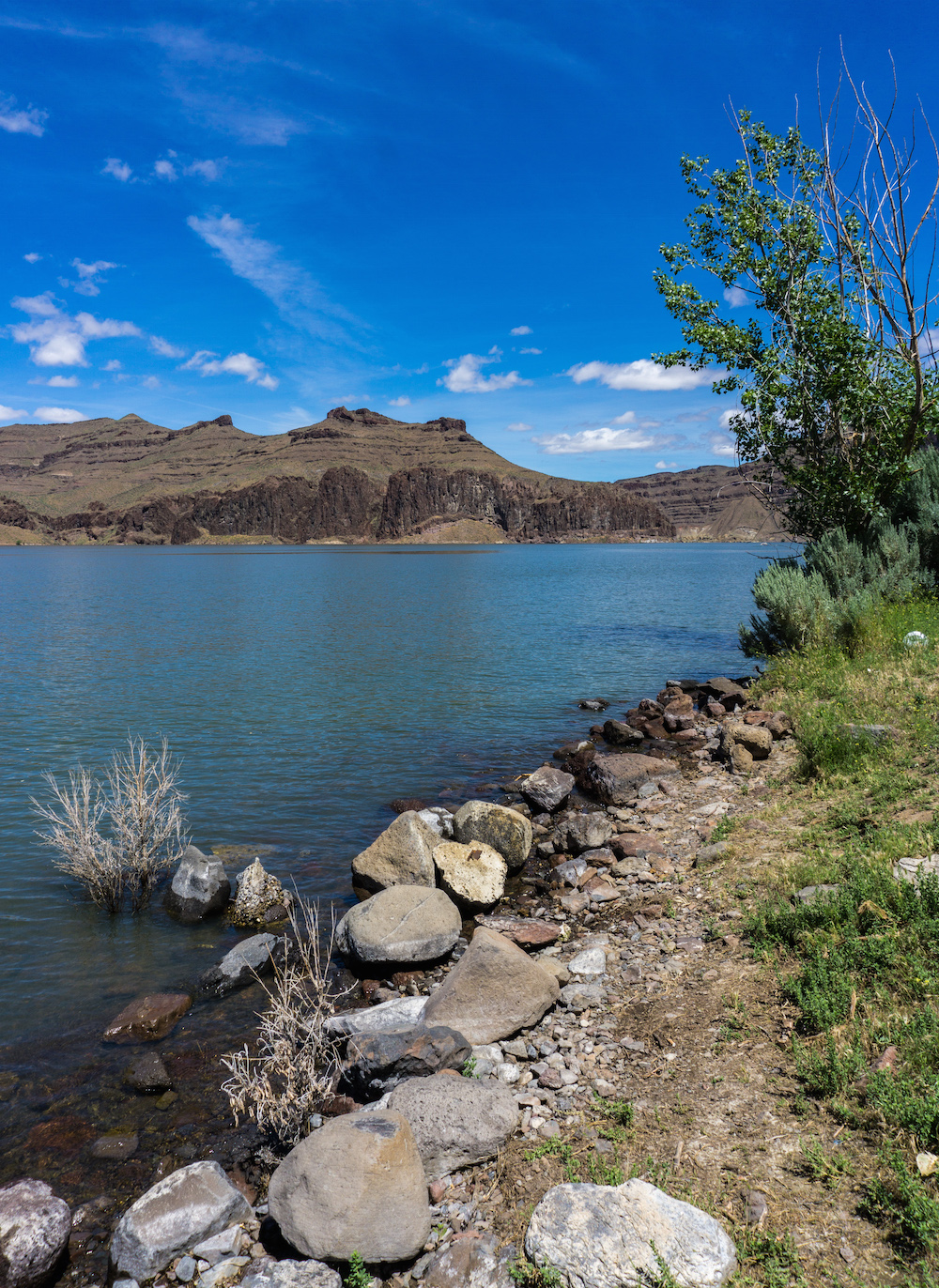 Lake Owyhee State Park: Boat Required